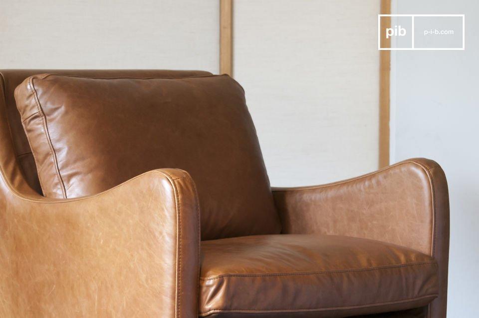 Sorgfältige Kurven, vintage Eleganz und qualitatives Leder