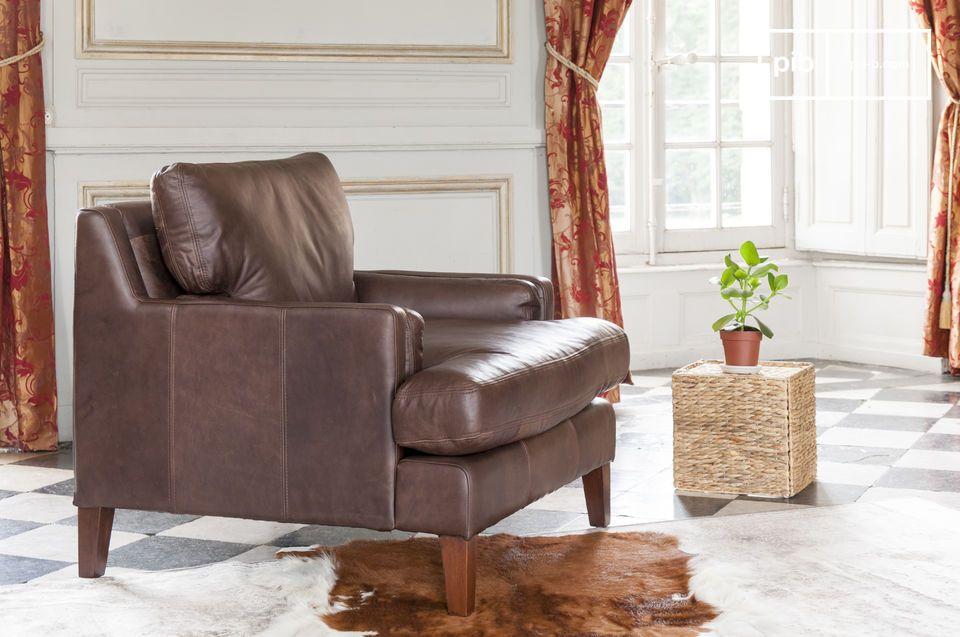 Zeitloses Design, Vollnarbenleder und außergewöhnlicher Sitzkomfort