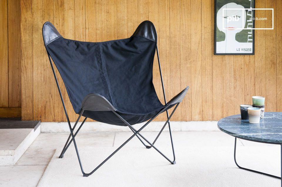 Black Colina ist viel mehr als ein Leinwand Sessel: Es ist eine echte Einladung zur Entspannung