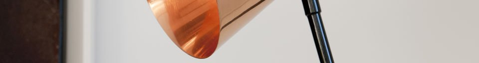 Materialbeschreibung Leuche Copper Head