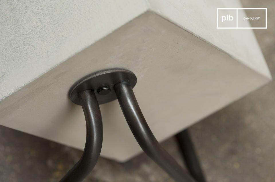 Zement und Metall für ein einzigartiges Design