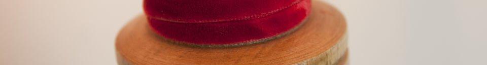 Materialbeschreibung Leuchte Douce Mercerie
