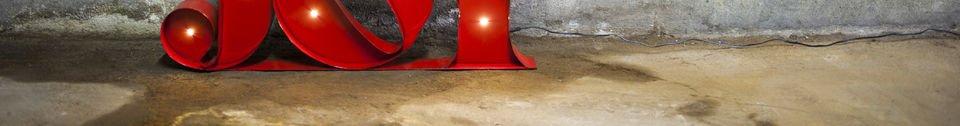 Materialbeschreibung Leuchtschild Joy
