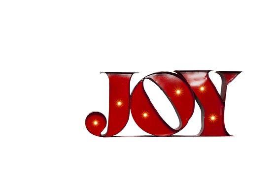 Leuchtschild Joy ohne jede Grenze