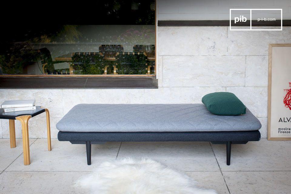Ein bequemer und nüchterner Sitzkomfort mit einem zeitlosen Stil