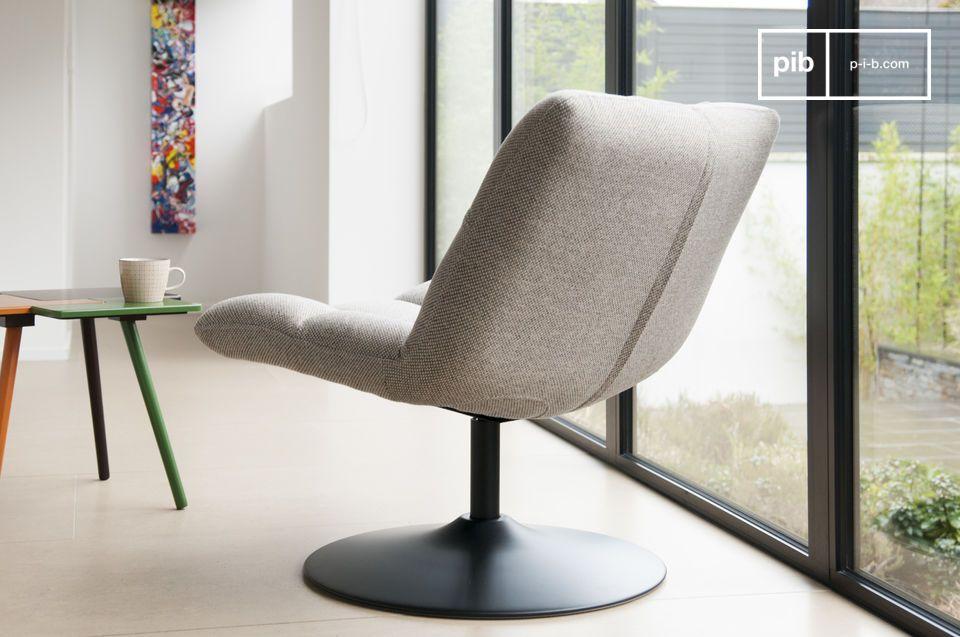 Dieser Sessel bietet ein sehr hohes Komfortniveau