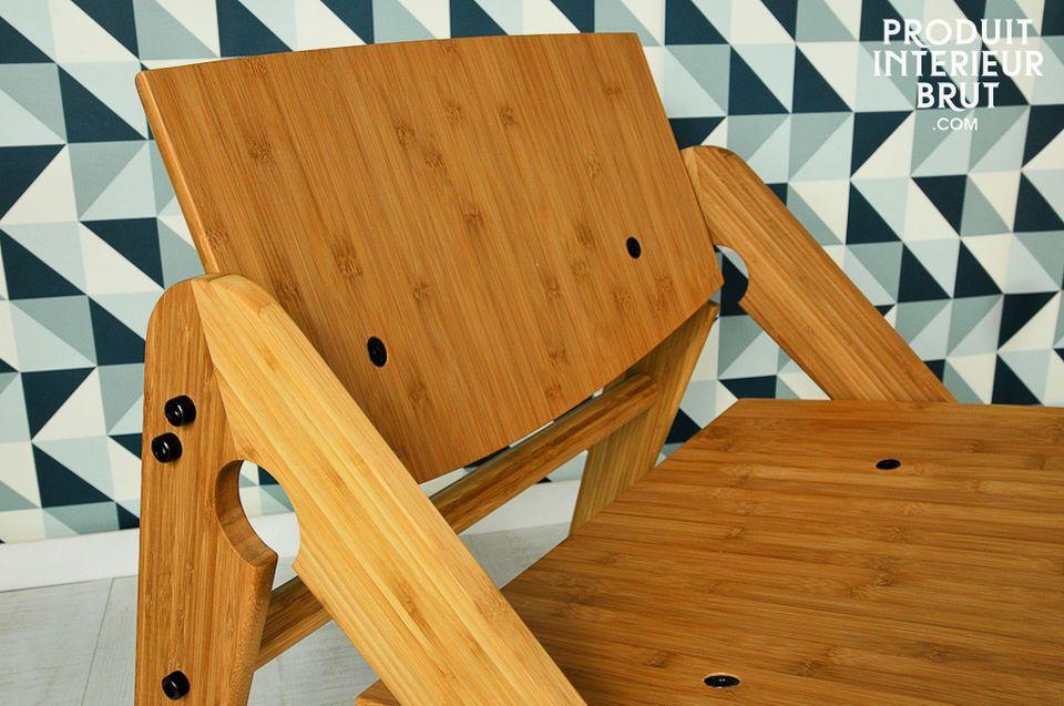 Leichtes Scandi-Design, 100% aus Bambus gefertigt