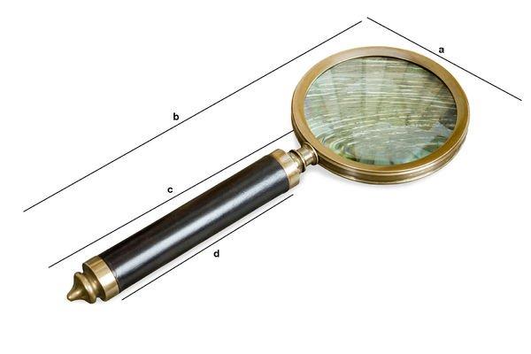 Produktdimensionen Lupe Sherlock