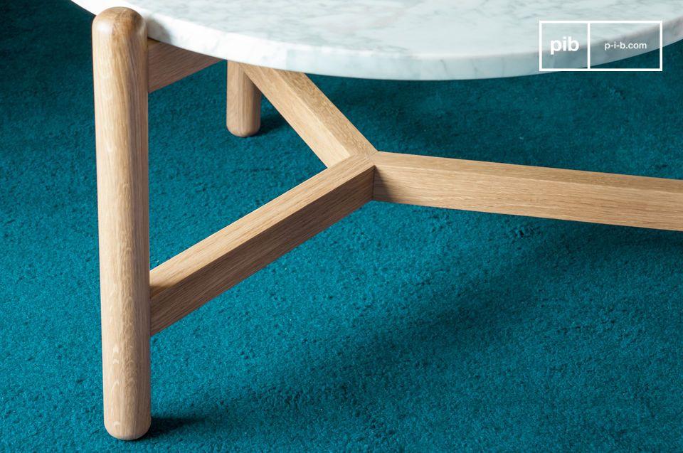 Die glatten, abgerundete Linien und machen dieses Möbel ästhetisch besonders ansprechend