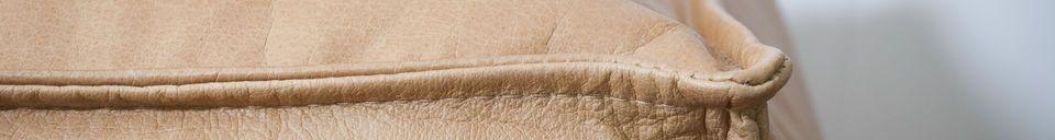 Materialbeschreibung Marsliden Leder-Puff