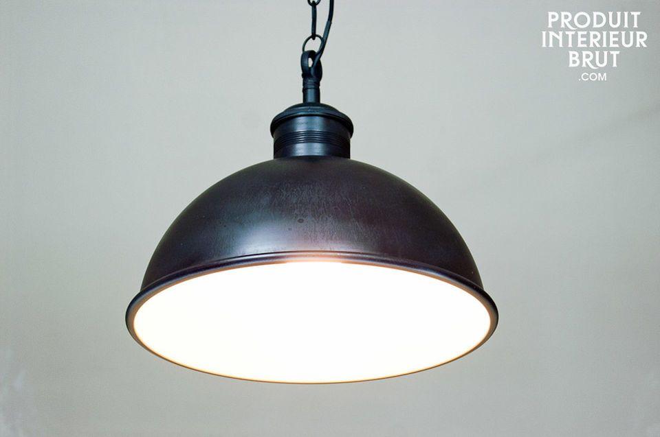 Werkstatt-Deckenlampe mit einem 40 cm Durchmesser