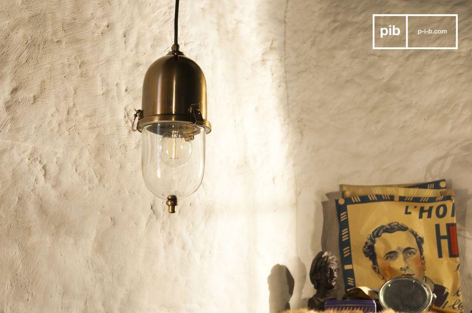 Trotz ihrer Größe wird die Kapsula-Lampe eine schöne Lichtquelle sein