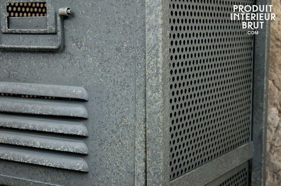Aufbewahrungsmöbel im robusten Industriedesign