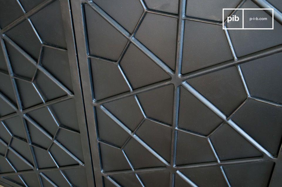 Diese geometrischen Motive erinnern an Möbel der ersten Hälfte des 20