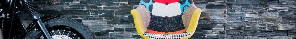 Materialbeschreibung Neo Patchwork Sessel