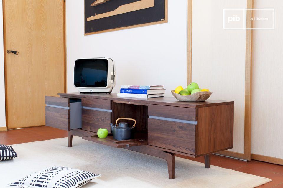 Eleganter Stauraum für TV oder Geschirr