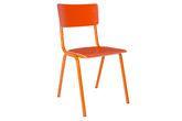 Orangener Stuhl Skole
