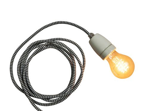 Porzellan-Hängeleuchte NUD ohne jede Grenze