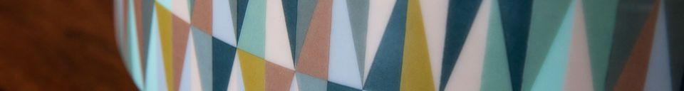 Materialbeschreibung Porzellanschale Remix