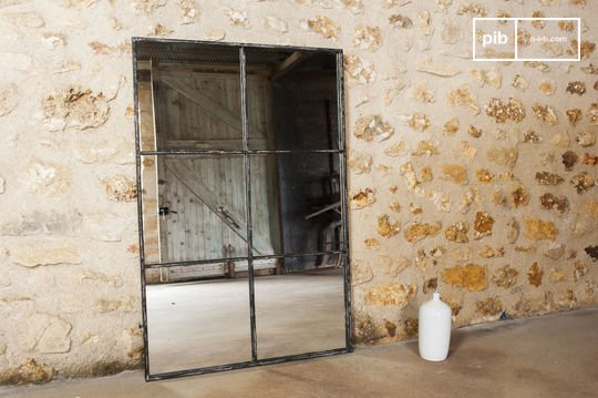 Quadratischer 6-teiliger Spiegel 120x80
