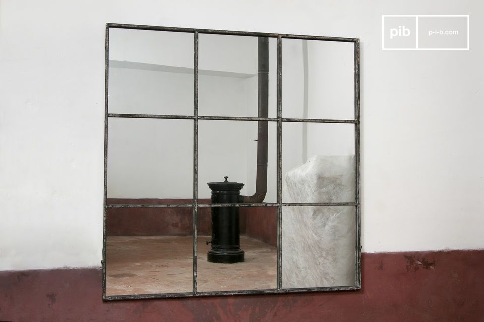 Quadratischer 9-teiliger Spiegel