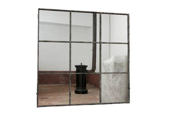 Quadratischer 9-teiliger Spiegel ohne jede Grenze
