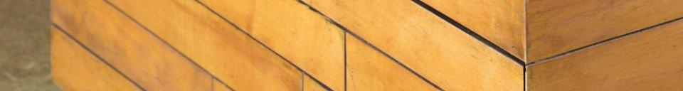 Materialbeschreibung Quadratischer Couchtisch Sheffield