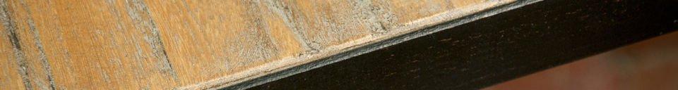 Materialbeschreibung Quadratischer Manhattan Tisch