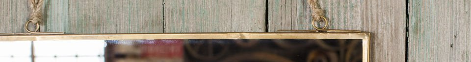 Materialbeschreibung Quadratischer Spiegel Solliès-Pont Vergoldet