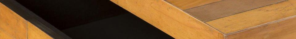 Materialbeschreibung Rechteckiger Couchtisch Sheffield