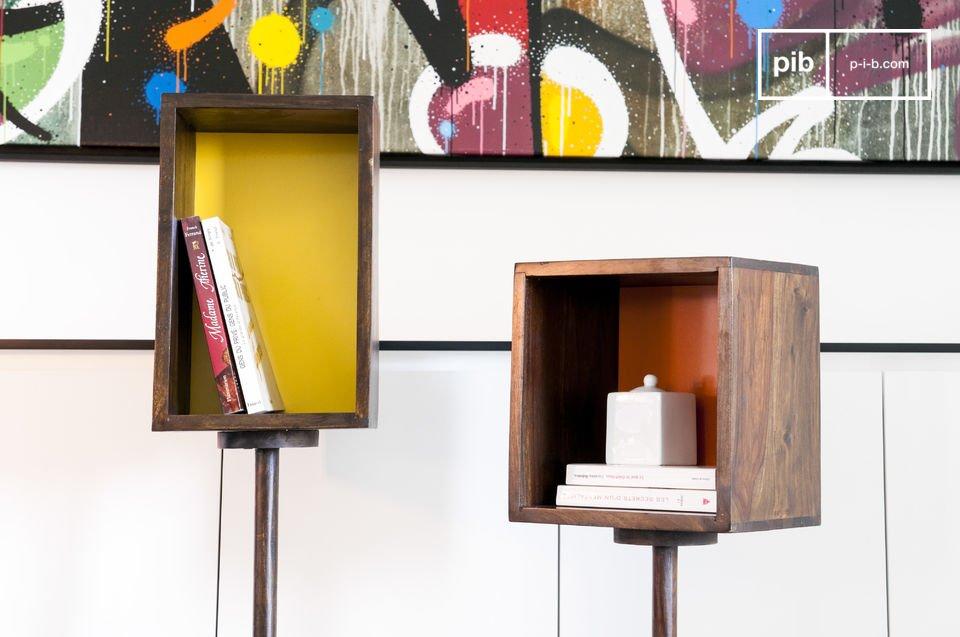 Spielerische Farben für ein praktisches Möbel