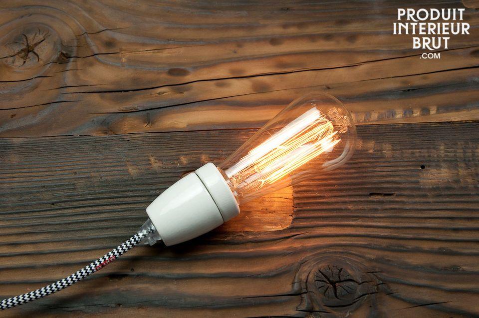 Charme einer Vintage-Glühbirne und lange Lebensdauer
