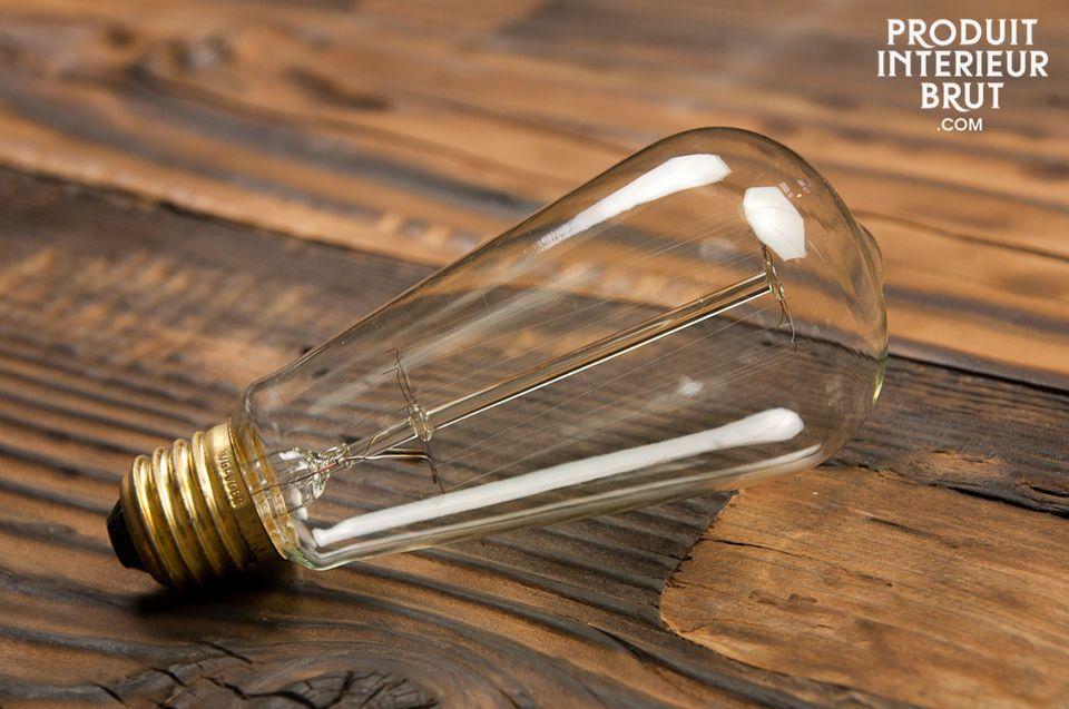 Diese dekorative Glühbirne bringt Ihre  Design-Beleuchtung  zum Strahlen und verleiht Ihrem