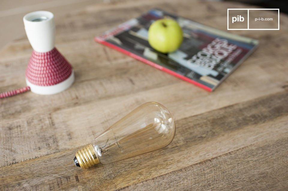 Der Charme einer Glühbirne im Vintage Style