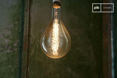 Riesen Glühbirne mit langem Faden