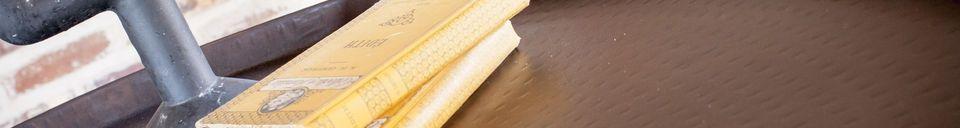Materialbeschreibung Runder Couchtisch Subolo