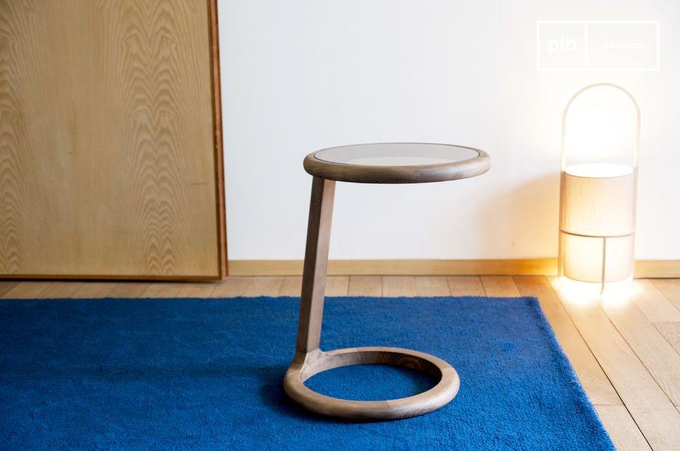 Runder Sofa-Beistelltisch Donhill - 4