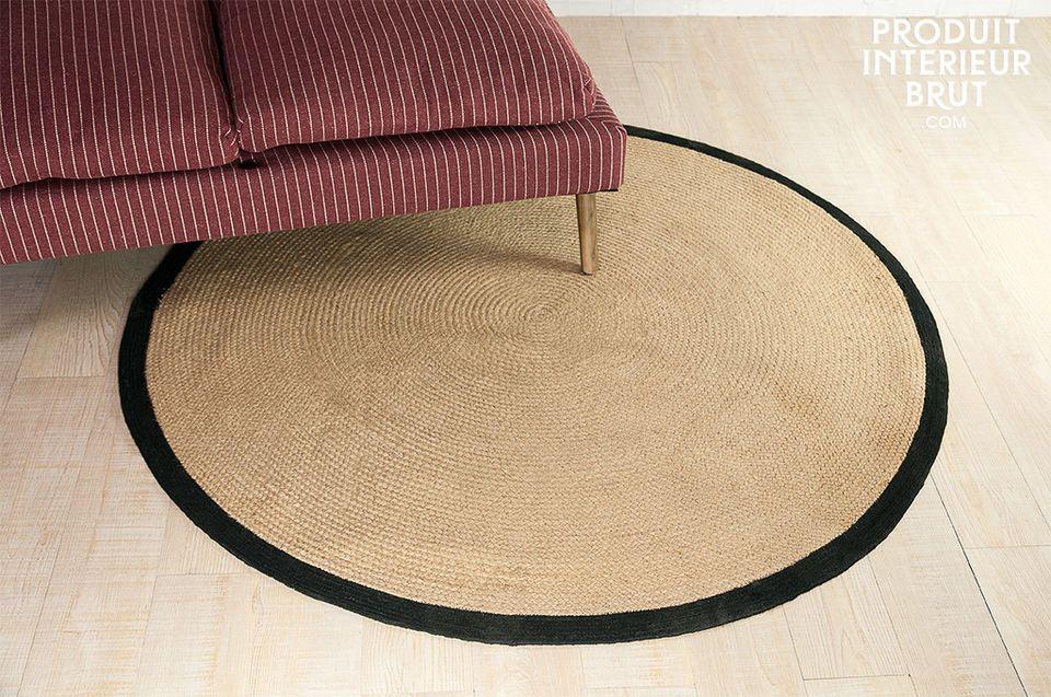 Runder Teppich Lidingo