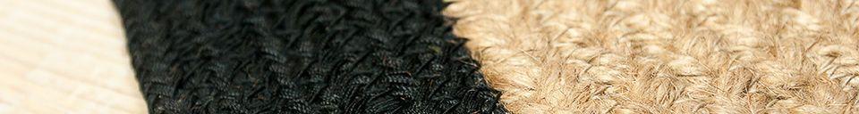 Materialbeschreibung Runder Teppich Lidingo