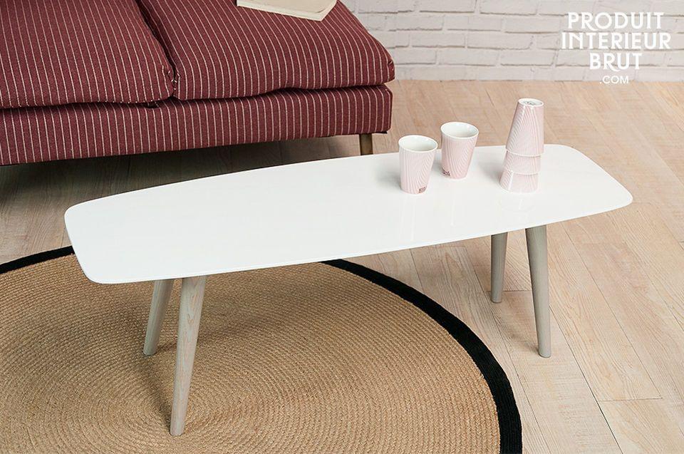 Der Teppich Lidingo überzeugt durch seine schlichte und elegante Verarbeitung im skandinavischen