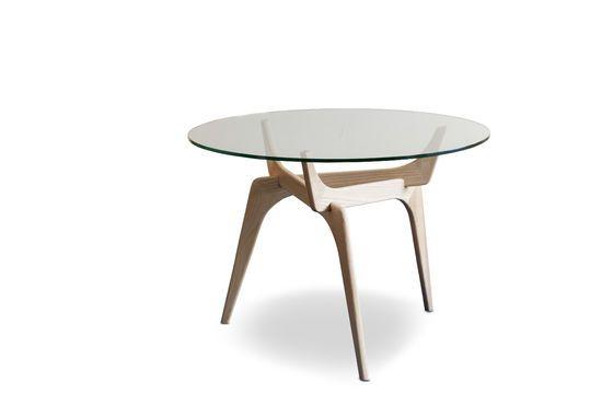 Runder Tisch aus Glas Parkano ohne jede Grenze