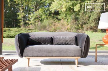 Rundes Sofa Olson
