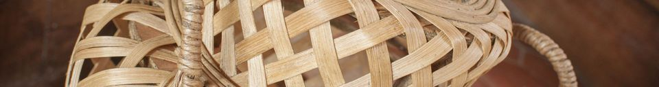 Materialbeschreibung Saïgon Bambus Laterne