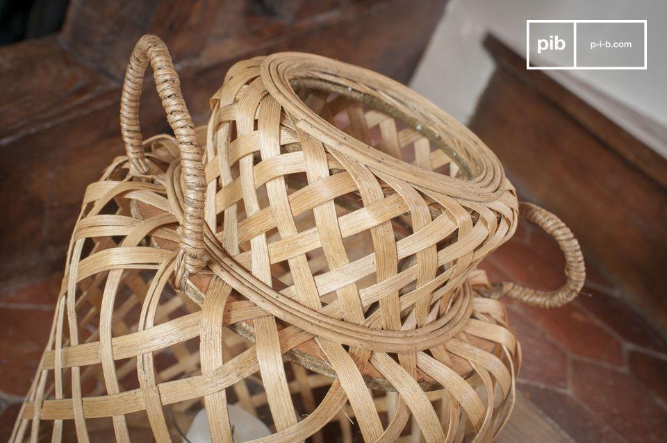 Die Saïgon Bambus Laterne hat eine gepflegte und zeitlose Ästhetik