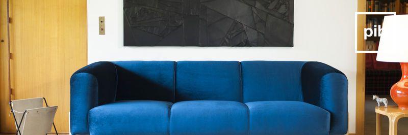 Samt sofa