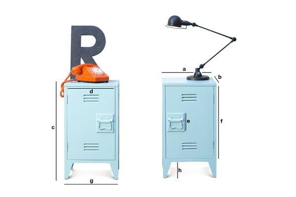 Produktdimensionen Schränke-Paar Billy