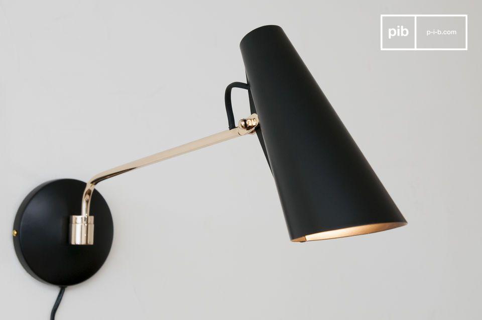 Eine Designerlampe in einem herrlichen Vintage-Stil.