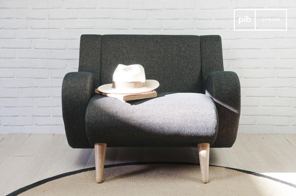 Der Sessel Genève ist aus dem Design aus der Mitte des 20