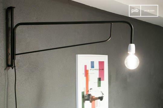 Schwenkbare Lampe Atelier