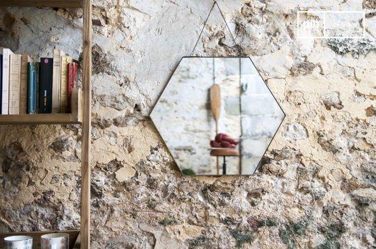 Sechseckiger Spiegel Solliès-Pont
